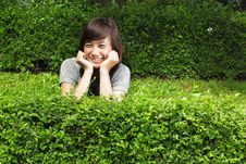 Free Attractive Asian Girl Smiling Stock Photos - 17880893