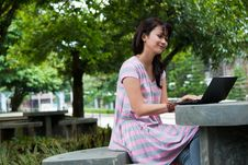 Free Studying In A Park Stock Photos - 17881983