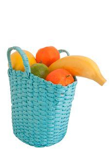 Free Fresh Fruit In The Basket Stock Image - 17882901