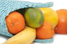 Free Fresh Fruit In The Basket Royalty Free Stock Images - 17882929