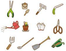 Cartoon Tool Icon Stock Image