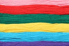 Free Colorful Thread Royalty Free Stock Photo - 17884215