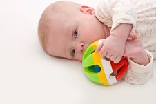Free Small Thoughtful Baby Stock Photo - 17884660