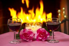 Free Romantic Evening Royalty Free Stock Photo - 17885015