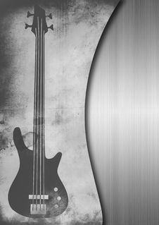 Free Grungy Guitar Background Stock Photo - 17885410