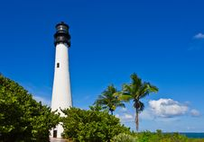 Free Cape Florida Lighthouse Royalty Free Stock Image - 17886476