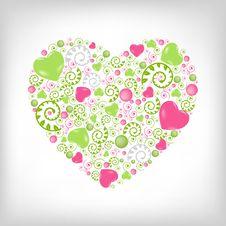 Free Heart Shape. Vector Royalty Free Stock Photos - 17888628