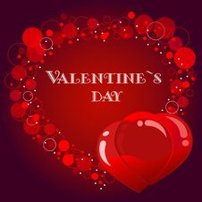 Free Valentine`s Card Stock Photo - 17888980
