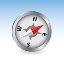 Free Silver Compass Stock Photos - 17889133