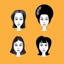 Free Woman Hairstyle Royalty Free Stock Image - 17889266