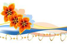 Free Three Flowers Stock Image - 17889331