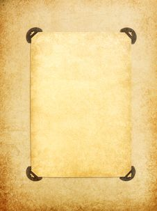 Free Vintage Blank Page Stock Photo - 17889720