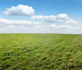 Free Green Field Under Midday Sun Royalty Free Stock Photo - 17890825