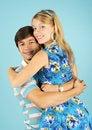 Free Embracing Loving Couple Royalty Free Stock Photo - 17891565