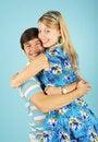Free Embracing Loving Couple Royalty Free Stock Image - 17891586