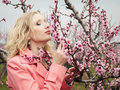 Free Girl In Spring Garden Stock Photos - 17895513