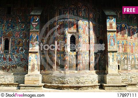 Free Moldovita Monastery Stock Image - 17897111