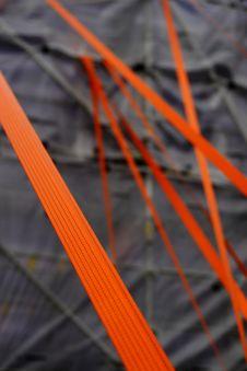 Orange Straps Royalty Free Stock Images
