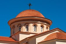 Free Church Dome Over Blue Sky Stock Images - 17890384