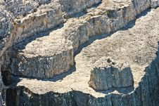 Layers Of Rock Stock Photos