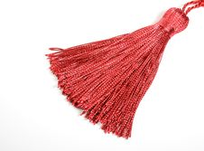 Free Red Silk Tassel Stock Image - 17891181