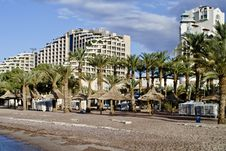 Free View On Resort Hotels, Eilat, Israel Stock Photos - 17891313
