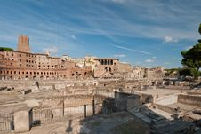 Free View At The Trajan Forum Stock Image - 17891731