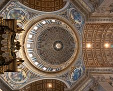 Free Ceil Of The St  Peter S Basillica Stock Photo - 17891800