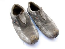 Old Shoes Pair Royalty Free Stock Photo