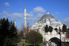 Free Suleymaniye Mosque Stock Images - 17892734