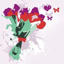 Vector Floral Bouquet