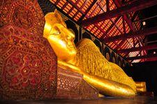 Thai Golden Buddha Stock Images
