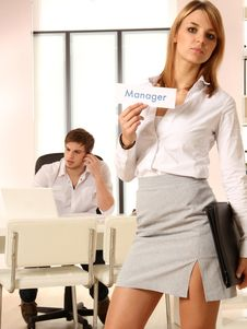 Free At The Office Stock Photo - 17893340