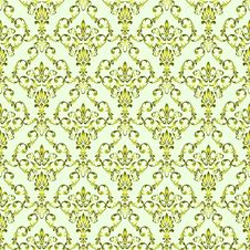 Free Seamless Wallpaper Pattern Royalty Free Stock Image - 17893436