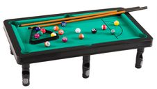 Free Pool Table. Stock Image - 17893871