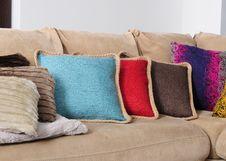 Free Cushions. Stock Photos - 17894653