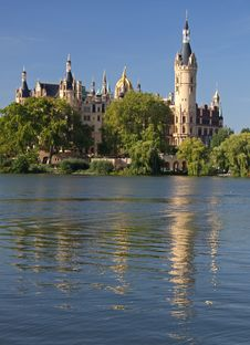 Free Castle Schwerin 02 Royalty Free Stock Photos - 17894858