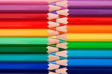 Free Colored Pencils Royalty Free Stock Photo - 17895935