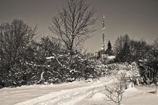 Free Brezovec Hill, Dolny Kubin Stock Image - 17896401