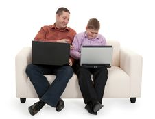 Free Father And Son Stock Image - 17897421