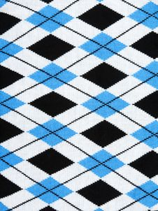 Free Background From Knitted Plaid Fabrics Stock Photography - 17897422