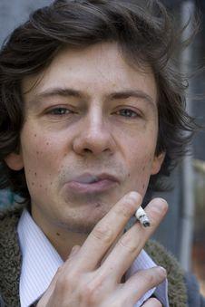 Free Young Rebel Smoking Royalty Free Stock Photo - 17897515