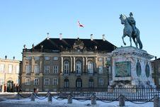Free Amalienborg Palace Stock Photography - 17898122