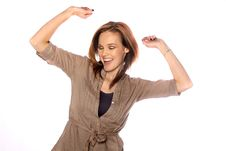Free Young Woman Dancing Stock Photo - 17898400