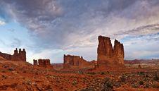 Free Utah Landscape Royalty Free Stock Photography - 17899557