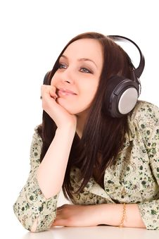 Free Headphones Royalty Free Stock Photography - 17899917