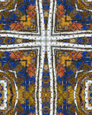Free Autumn Aspens Cross2 Royalty Free Stock Photo - 1792975