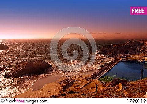 Ocean Beach, San Francisco Stock Photo