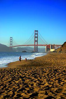 Free Baker Beach, San Francisco Royalty Free Stock Photos - 1790138