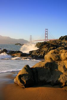 Free Baker Beach, San Francisco Royalty Free Stock Image - 1790156